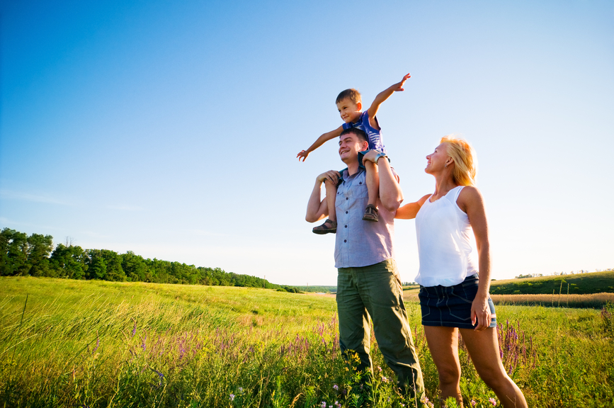Joyful Parenting includes spending time in nature